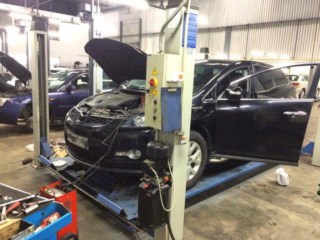 Чип-тюнинг и отключение катализаторов Mazda CX-7 2.3 Turbo 2008