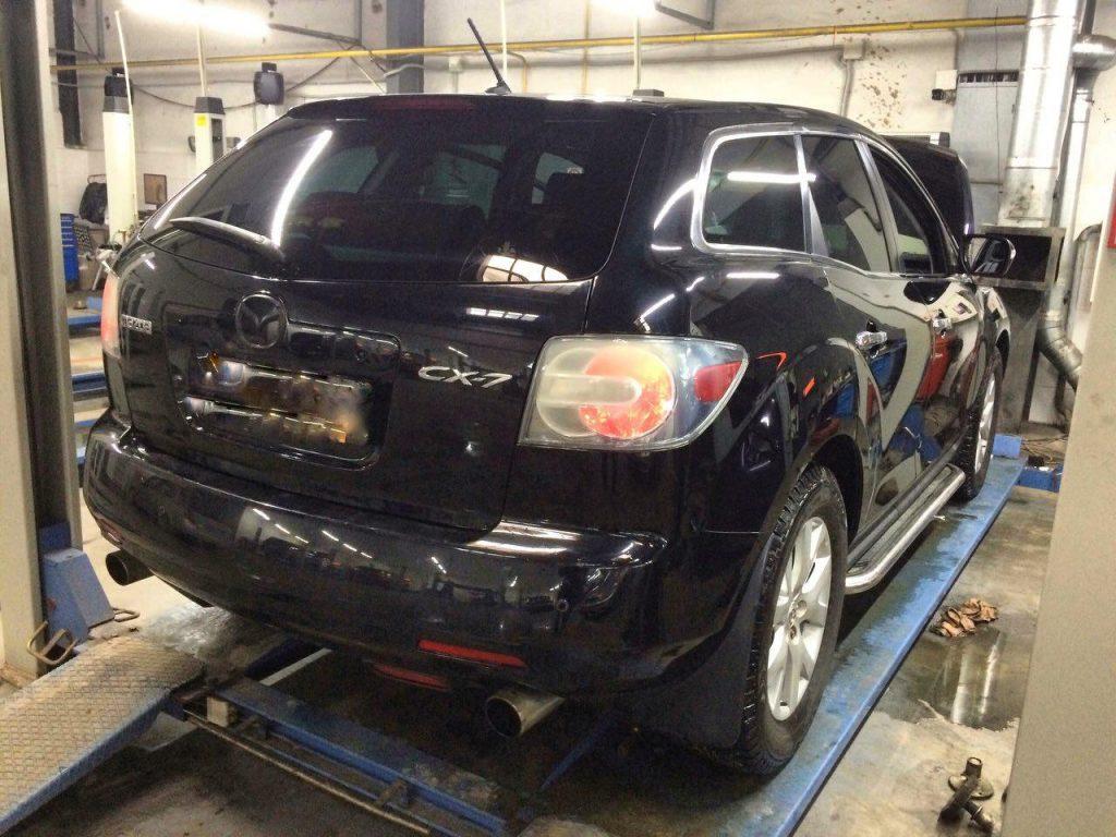 Удалить и отключить катализаторы в Киеве на Mazda CX-7 2.3 Turbo 2008