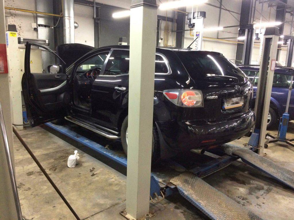 Удаление и отключение катализаторов Mazda CX-7 2.3 Turbo 2008