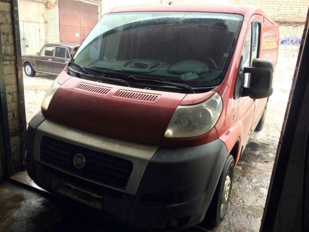 Удалить и отключить сажевый фильтр Fiat Ducato 2.3 MultiJet 2012