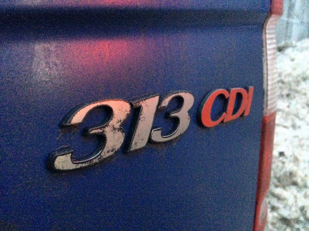Отключить ЕГР-клапан, удалить и отключить сажевый фильтр Mercedes-Benz Sprinter 313 2.2 CDI 2011