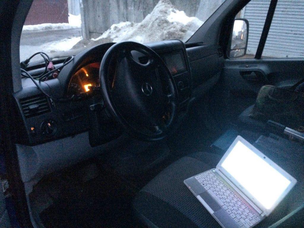 Отключение клапана ЕГР и сажевого фильтра Mercedes-Benz Sprinter 313 2.2 CDI 2011