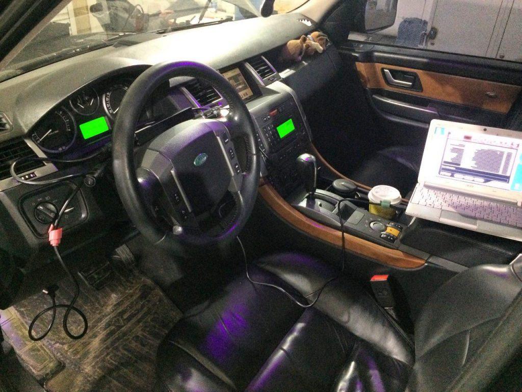 Отключить катализаторы и удалить Range Rover 4.4 2006