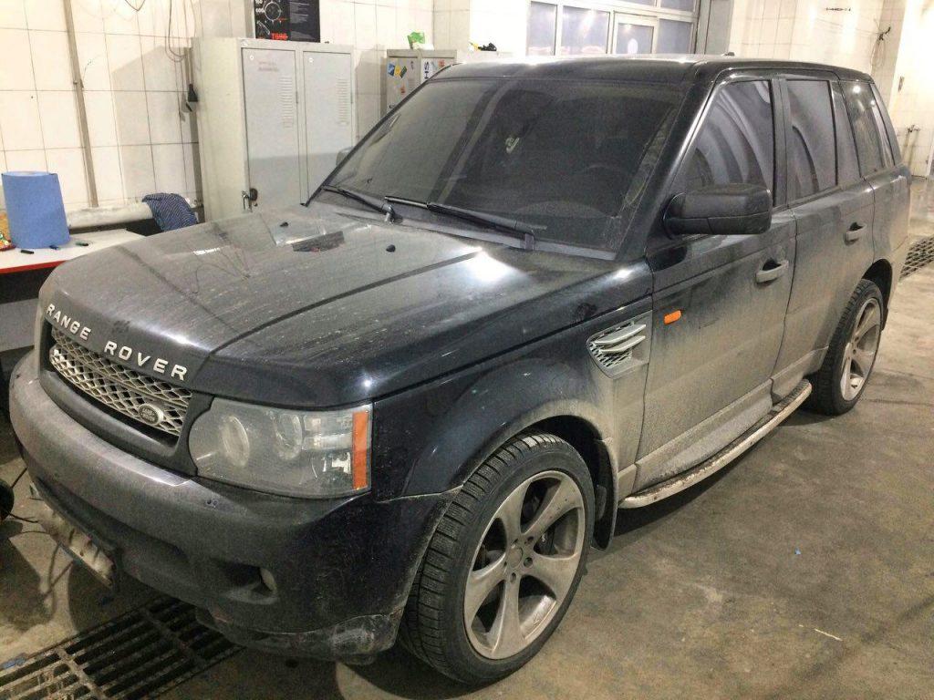Отключение катализаторов на Range Rover 4.4 2006
