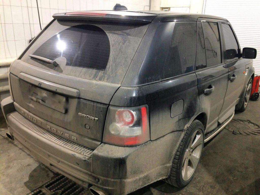Отключить второй лямбда-зонд Range Rover 4.4 2006