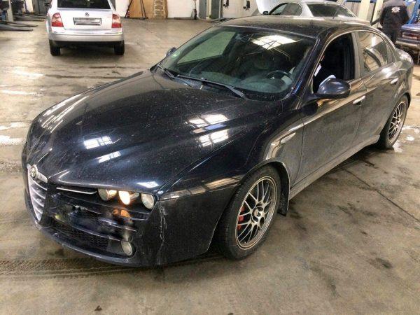 Отключение вторых лямбда-зондов Alfa Romeo 159 2.2 2008