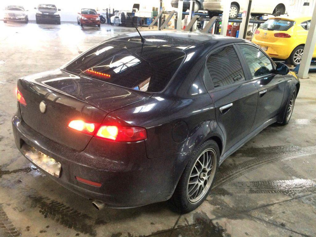 Отключить катализаторы на Alfa Romeo 159 2.2 2008