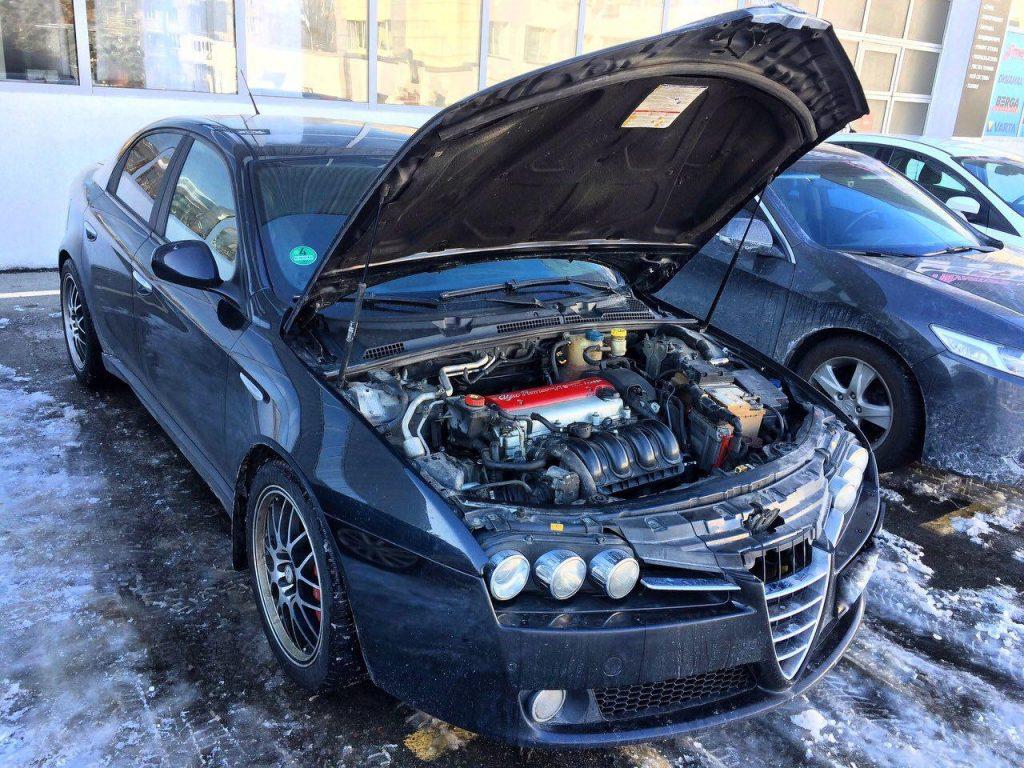 Удалить и отключить катализаторы в Киеве на Alfa Romeo 159 2.2 2008