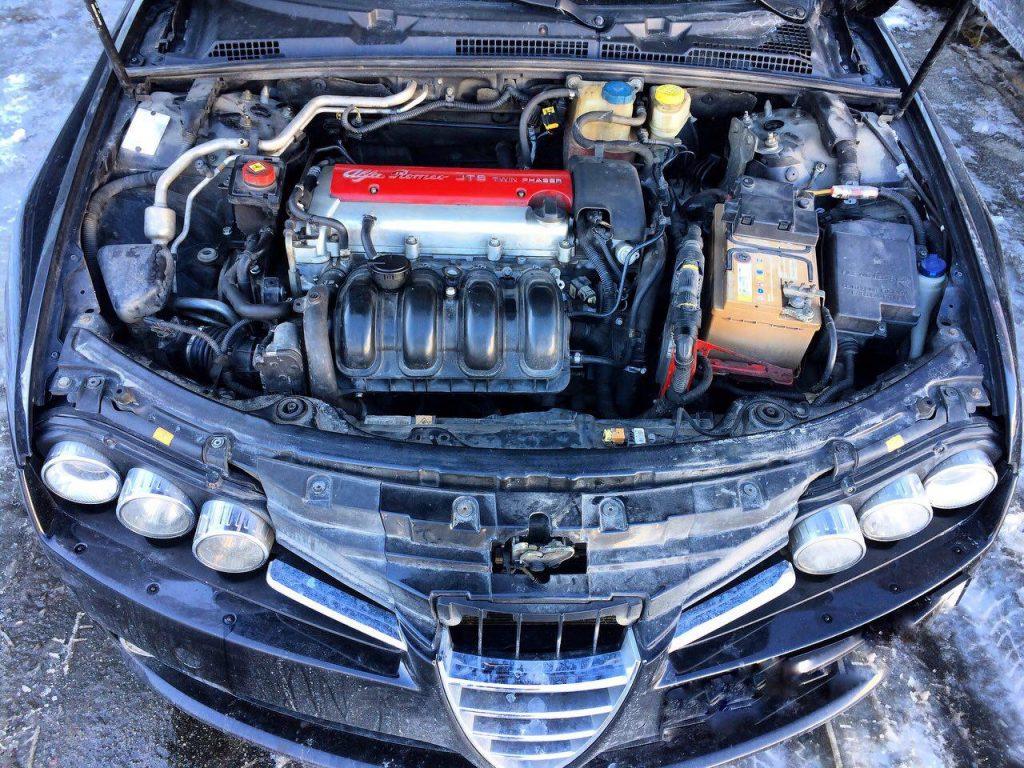 Отключение второго лямбда-зонда Alfa Romeo 159 2.2 2008