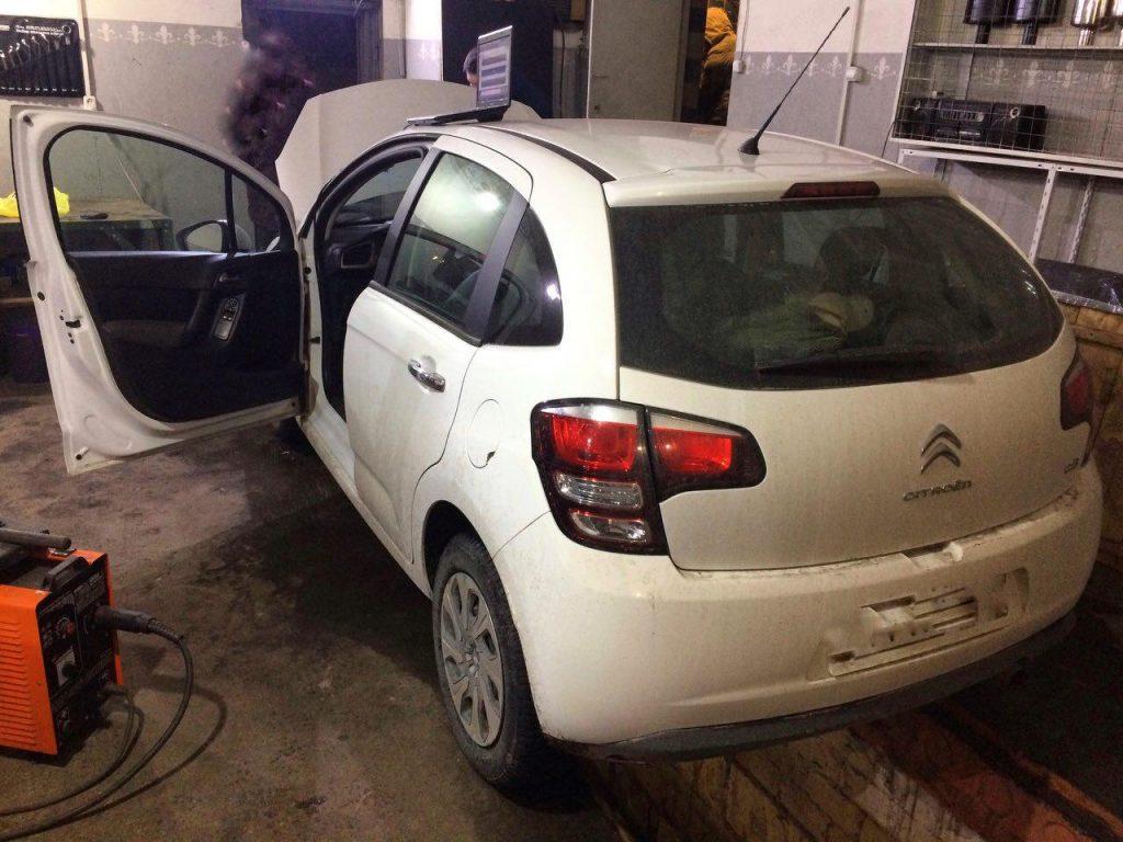 Удалить и отключить сажевый фильтр Citroën C3 1.4 HDI 2013