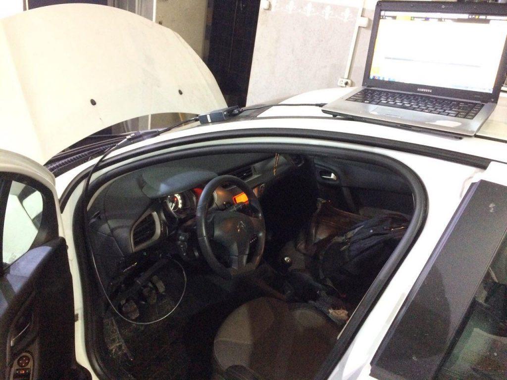 Отключение сажевого фильтра и системы AdBlue Citroën C3 1.4 HDI 2013