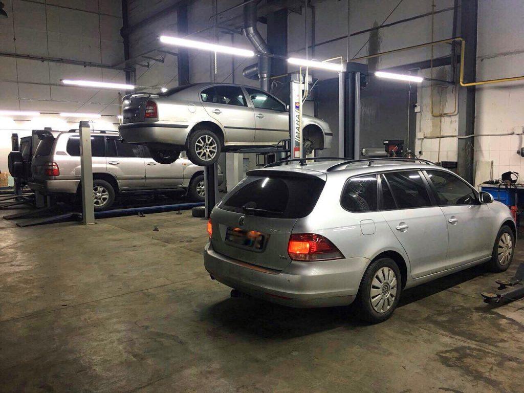 Отключить сажевый фильтр и удалить на Volkswagen Golf 1.6 TDi 2011