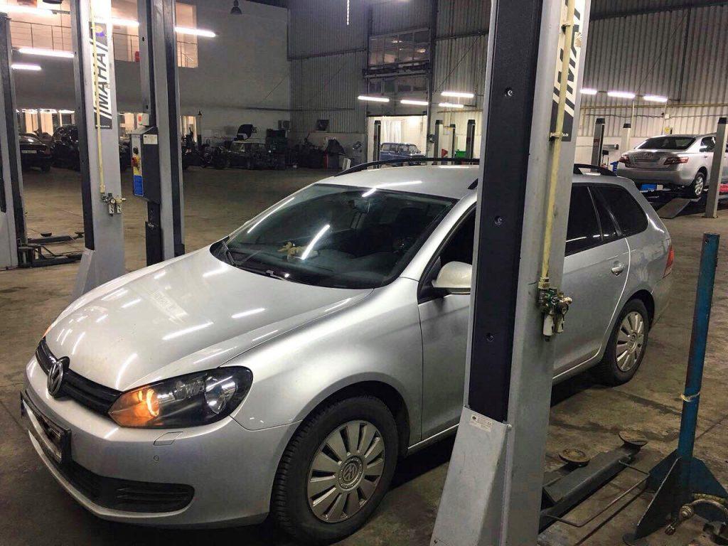 Отключить сажевый фильтр и клапан ЕГР на Volkswagen Golf 1.6 TDi 2011