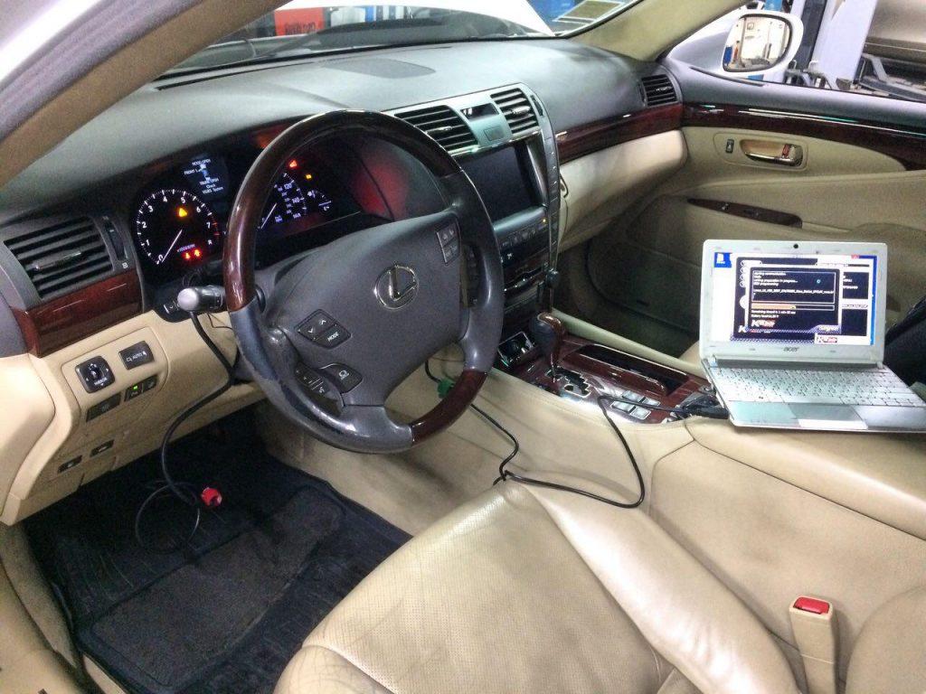 Отключение катализаторов Lexus LS 460 2006