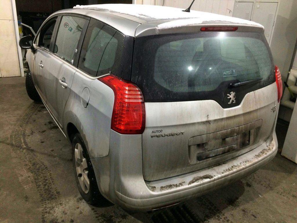 Peugeot 5008 1.6 HDI 2011 отключить сажевый фильтр в Киеве