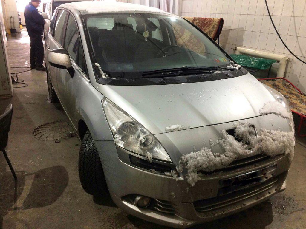 Удалить и отключить сажевый фильтр Peugeot 5008 1.6 HDI 2011