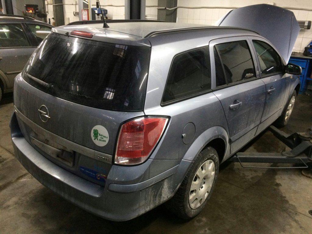 Отключение ЕГР-клапана и сажевого фильтра Opel Astra 1.3 CDTI 2008