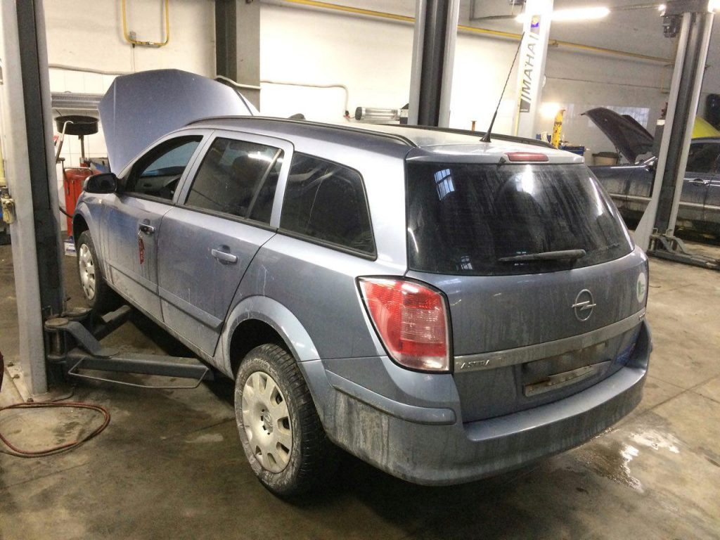Отключить и удалить сажевый фильтр Opel Astra 1.3 CDTI 2008